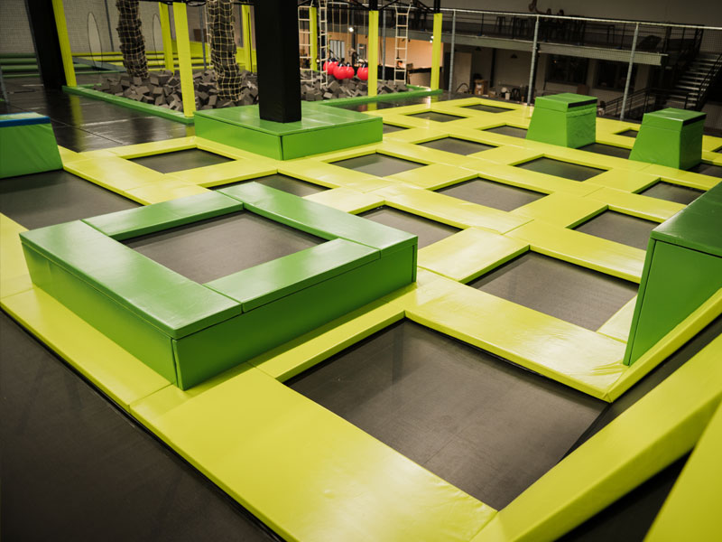 Free Zone trampolines