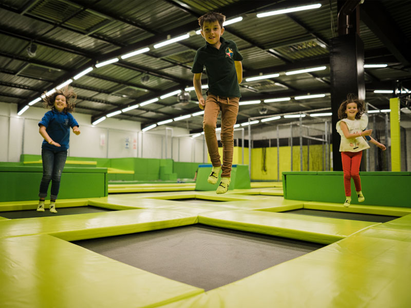 Mini Jumper trampolines